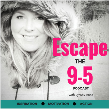 Listen on Escape the 9-5 Podcast